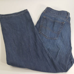 Lucky Brand Short Inseam Mens Size 38 Blue Jeans